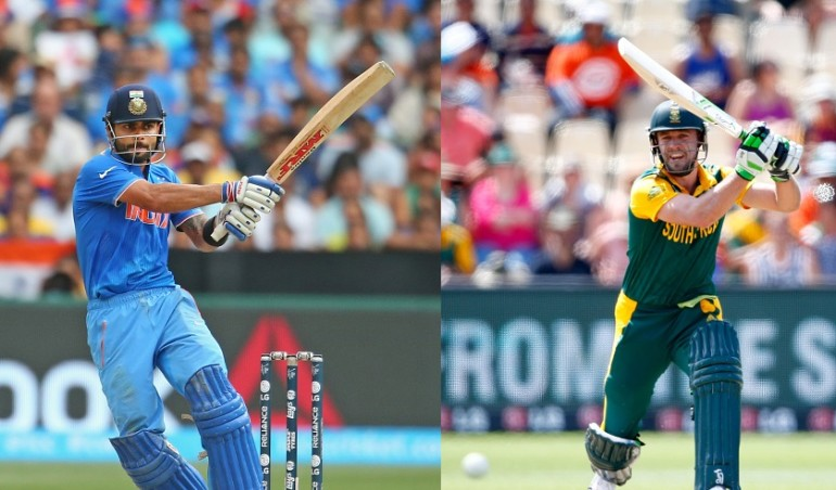 India v South Africa – 4th ODI