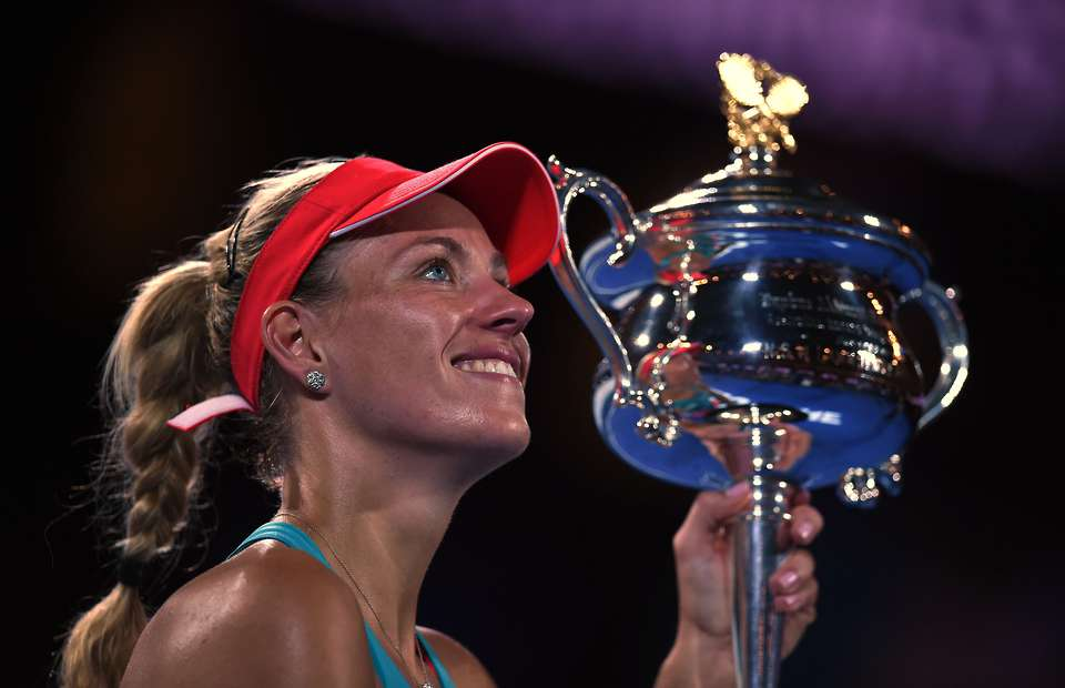 Australian Open 2016: Kerber Stuns Serena For Maiden Grand Slam Title.